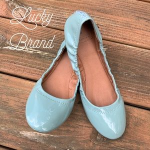 EUC Lucky Brand Leather Patent Ballet Flat